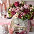 Natural Rose Garden ポットアレンジメントの画像2