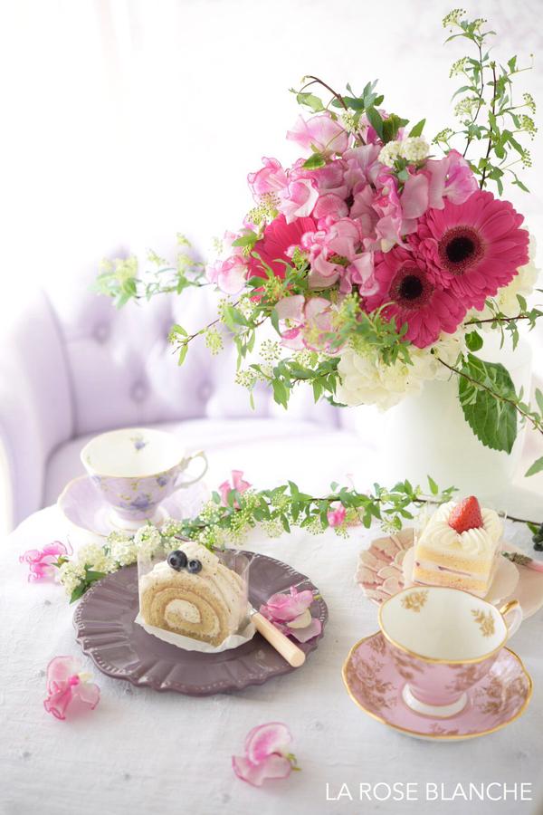 Tea time のブーケ