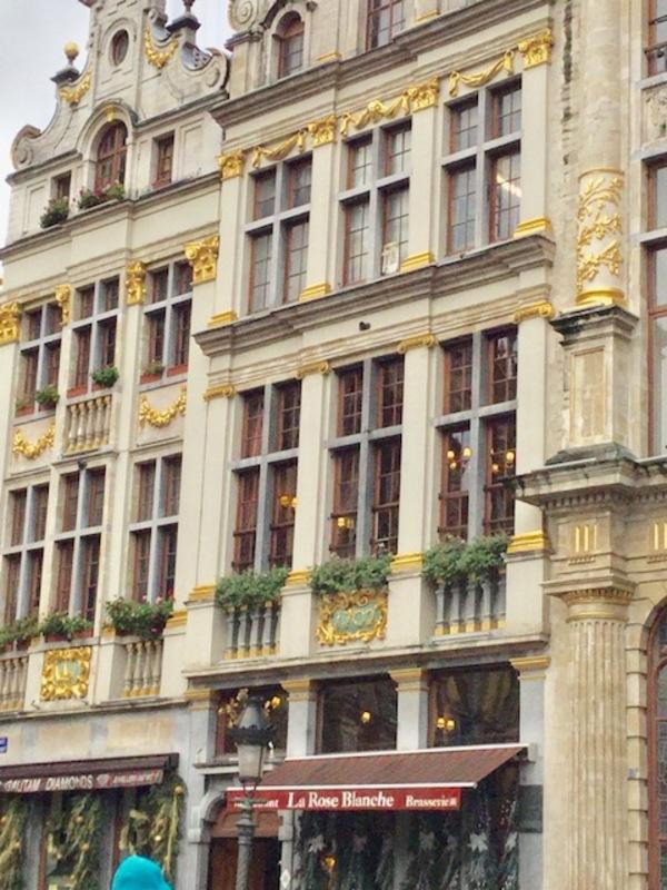 La Rose Blancheという名のベルギー老舗のレストラン