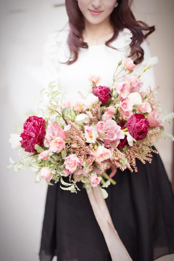 Pariで花束を