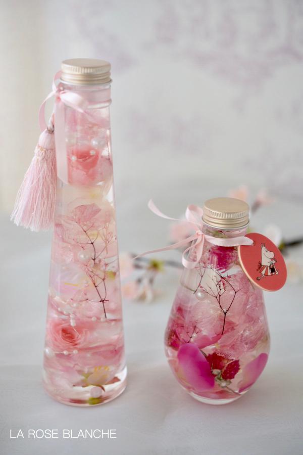桜色のハーバリウム