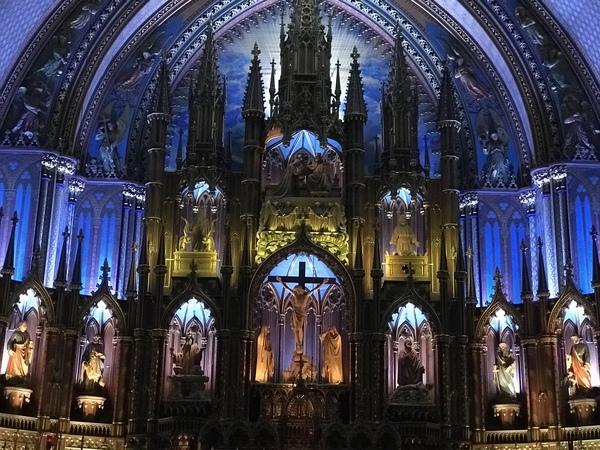 ノートルダム ド モントリオール大聖堂 (Basilique Notre-Dame)