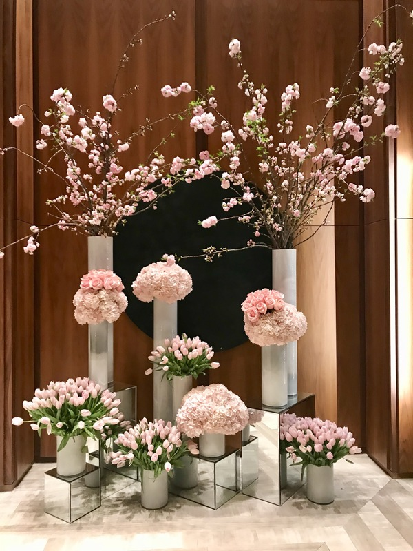 フォーシーズンズホテルの装花