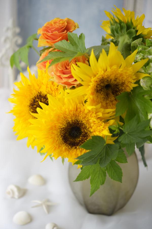 Sunflower* ひまわりの似合う季節