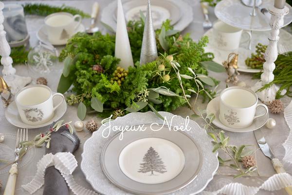 Joyeux Noël *クリスマステーブルコーディネート