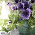 Purple flower decoration ❀˚パープルブーケの画像2