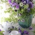 Purple flower decoration ❀˚パープルブーケの画像7