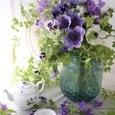 Purple flower decoration ❀˚パープルブーケの画像6
