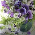 Purple flower decoration ❀˚パープルブーケの画像3