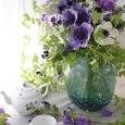 Purple flower decoration ❀˚パープルブーケの画像4