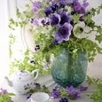 Purple flower decoration ❀˚パープルブーケの画像5