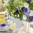 初夏のアフタヌーンティーテーブルの画像1