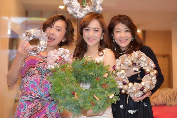 アロマとクリスマスリースのコラボイベントin 大阪 by 美人スタイル