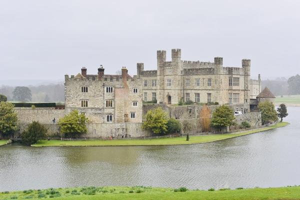 イギリス・リーズ城に滞在