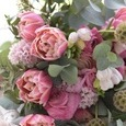 可愛いピンクの香りのブーケの画像2