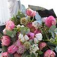 可愛いピンクの香りのブーケの画像4