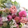 可愛いピンクの香りのブーケの画像3