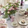 マリーアントワネットの世界 優雅なアフタヌーンティーテーブルの画像6
