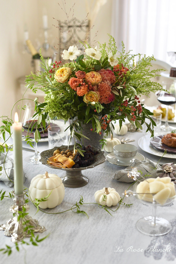 Autumn Bouquet 秋のテーブルコーディネート
