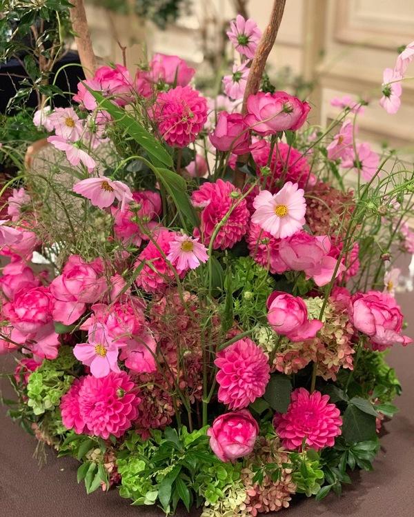 リッツカールトンの装花 ①