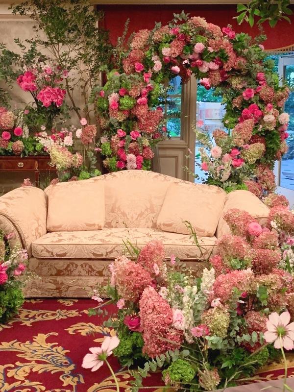 リッツカールトンの装花 ②