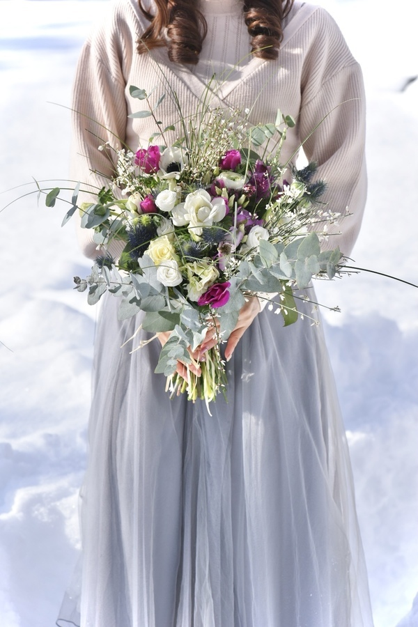 Winter Bouquet in Chamonix