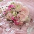 ピンク色ラナンキュラスのブーケの画像3