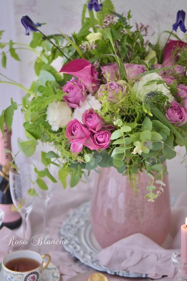 薔薇のブーケ バラの季節に束ねるブーケ