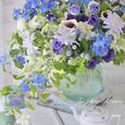 涼やかな夏のブルー&パープルブーケの画像2