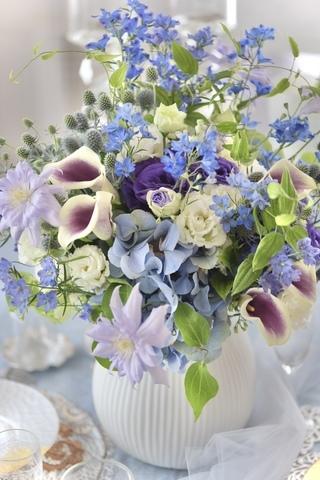 涼やか夏のブーケ𓇼Summer Bouquet