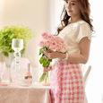 エレガントドレスと言う名のピンクの薔薇のブーケ&リントンツイードスカートの画像6