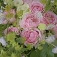 エレガントドレスと言う名のピンクの薔薇のブーケ&リントンツイードスカートの画像5