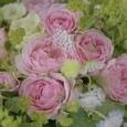 エレガントドレスと言う名のピンクの薔薇のブーケ&リントンツイードスカートの画像4
