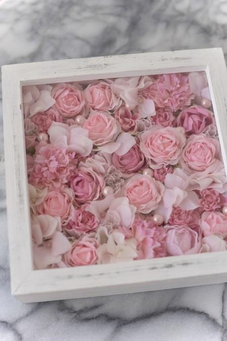 壁掛け*Rose Box アレンジメント
