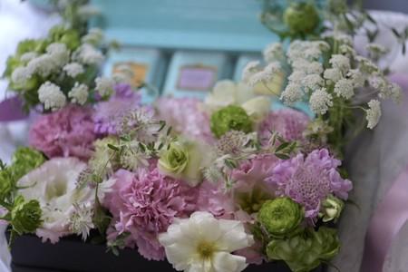 母の日ギフト (お花と紅茶のギフトセット) フォートナム&メイソンの紅茶